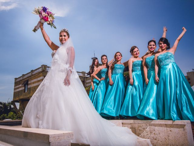 El matrimonio de José y Tatiana en Santa Marta, Magdalena 11