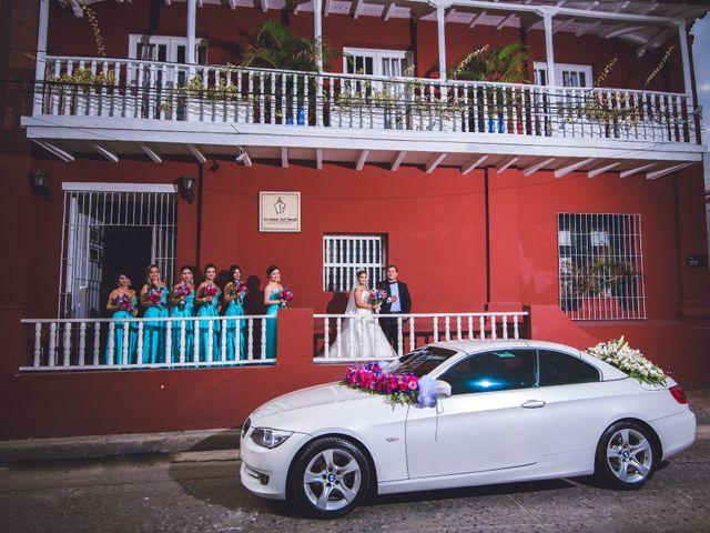 El matrimonio de José y Tatiana en Santa Marta, Magdalena 12