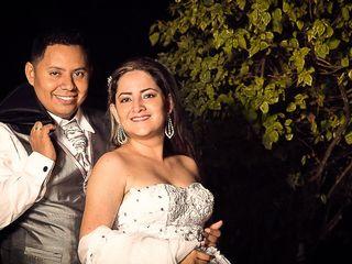 El matrimonio de Eliana y Iván