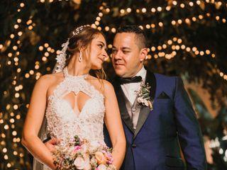 El matrimonio de Fernando y Daniela