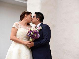 El matrimonio de Diego y Lina