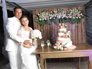 El matrimonio de Sindy y Jaime