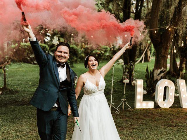 El matrimonio de Jenny y Álvaro