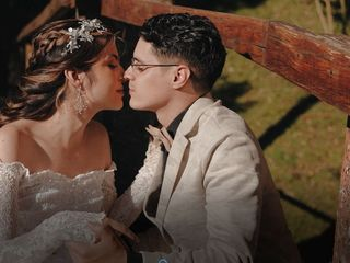 El matrimonio de Stefania y Sebastián
