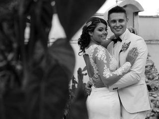 El matrimonio de Pia y Carlos