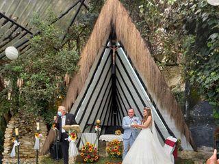 El matrimonio de Dalmara  y Chuvaned