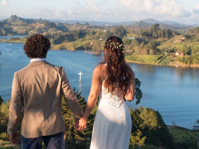 El matrimonio de Rayson y Laura en Guatapé, Antioquia 30