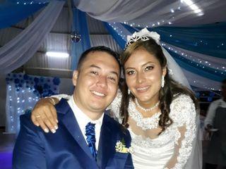El matrimonio de Marly y Andrés