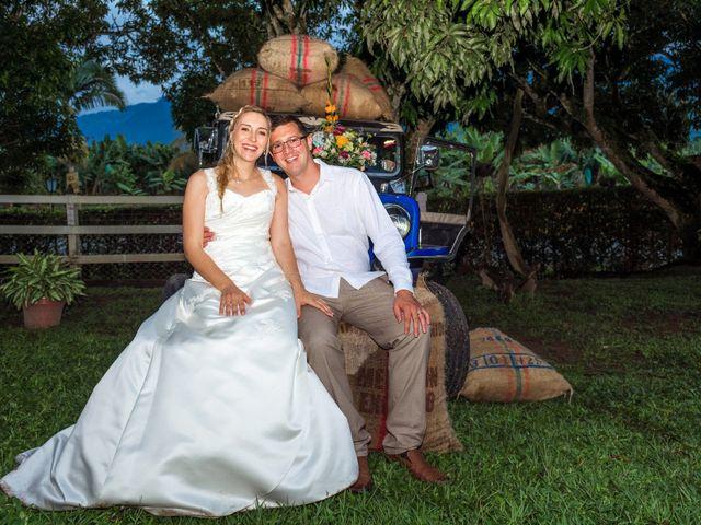 El matrimonio de Alexandra y Fabian