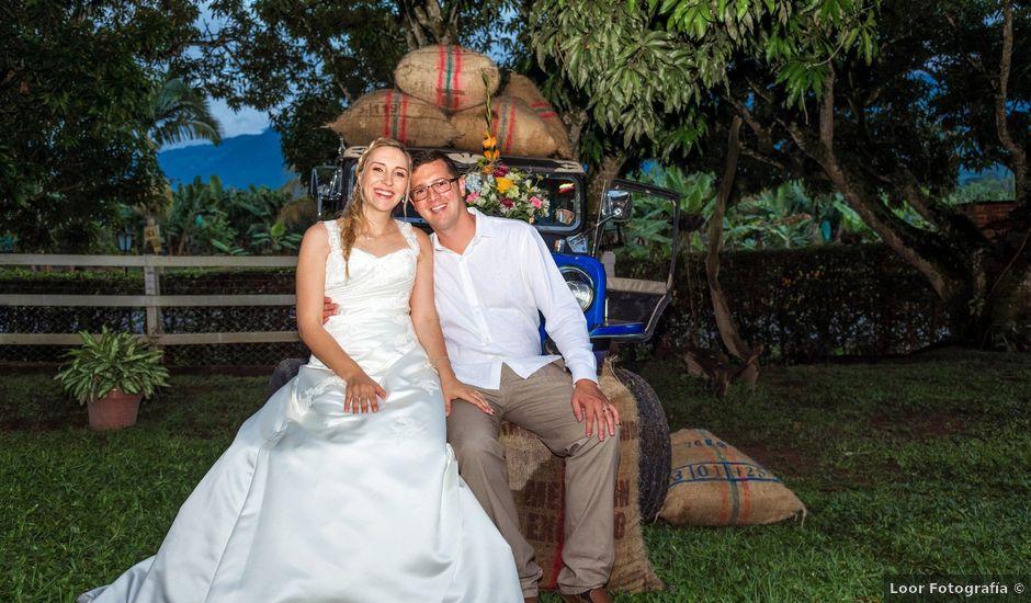 El matrimonio de Fabian y Alexandra en Armenia, Quindío