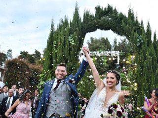 El matrimonio de Daniela  y Hector 1