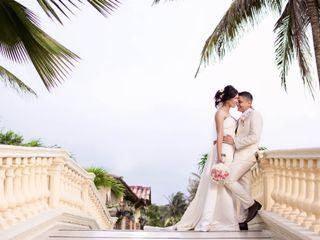 El matrimonio de Maleja y Leonardo