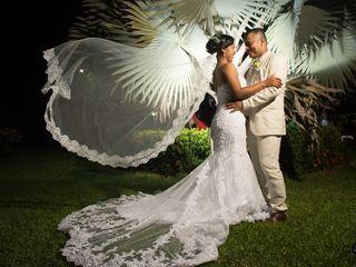 El matrimonio de Álex y Nelcy