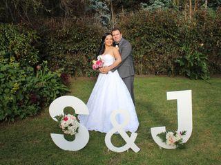 El matrimonio de Sandra y Jorge