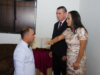 El matrimonio de Franklin y Lina 1