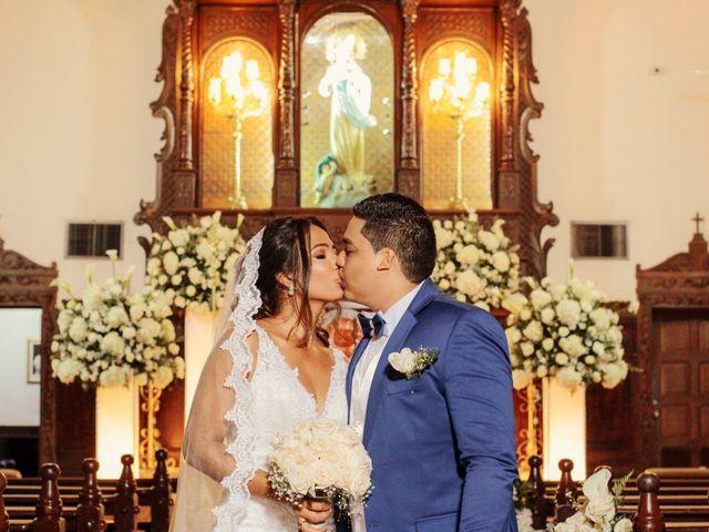 El matrimonio de Eleanis y Alvaro