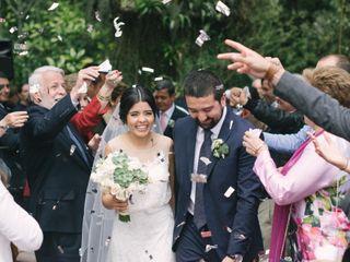 El matrimonio de Cristina y Alejandro