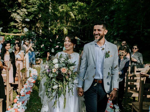 El matrimonio de Fanny y Joel