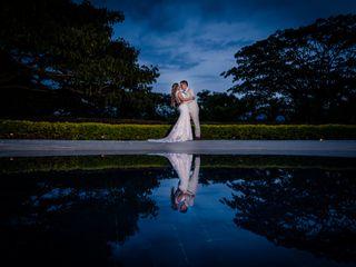 El matrimonio de Daniel y Laura