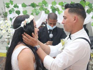 El matrimonio de Yesica y Andrés