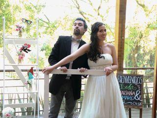 El matrimonio de Mariana y Mario