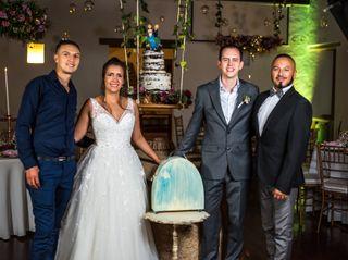 El matrimonio de Andrea  y Martín 1
