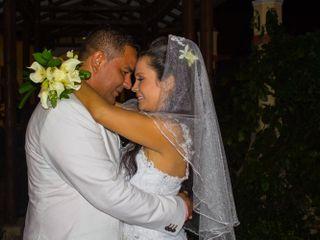 El matrimonio de Paula Andrea y Nelson