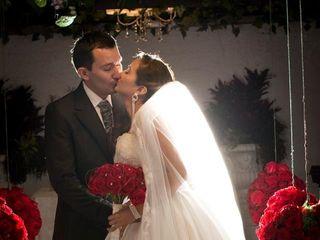 El matrimonio de Alexandra y Javier Eduardo  1