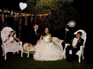El matrimonio de Alexandra y Javier Eduardo