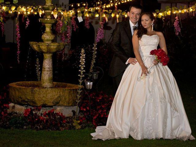 El matrimonio de Javier Eduardo  y Alexandra en Chía, Cundinamarca 8