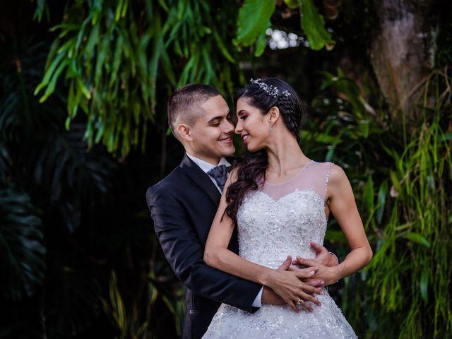 El matrimonio de Santiago y Melisa