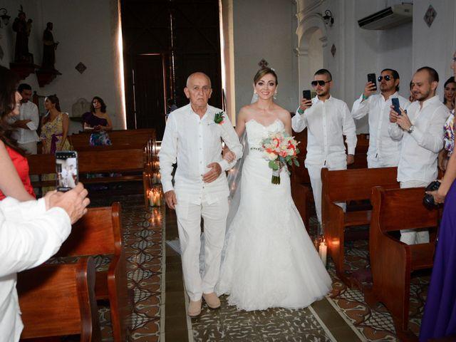 El matrimonio de Andrés y Verónica en Cartagena, Bolívar 8