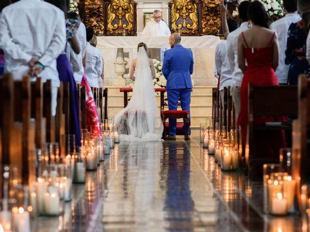 El matrimonio de Andrés y Verónica en Cartagena, Bolívar 9