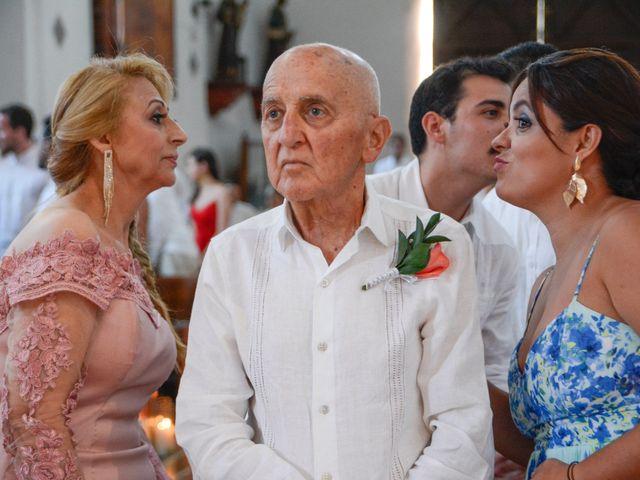 El matrimonio de Andrés y Verónica en Cartagena, Bolívar 12