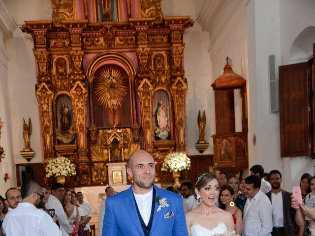 El matrimonio de Andrés y Verónica en Cartagena, Bolívar 15