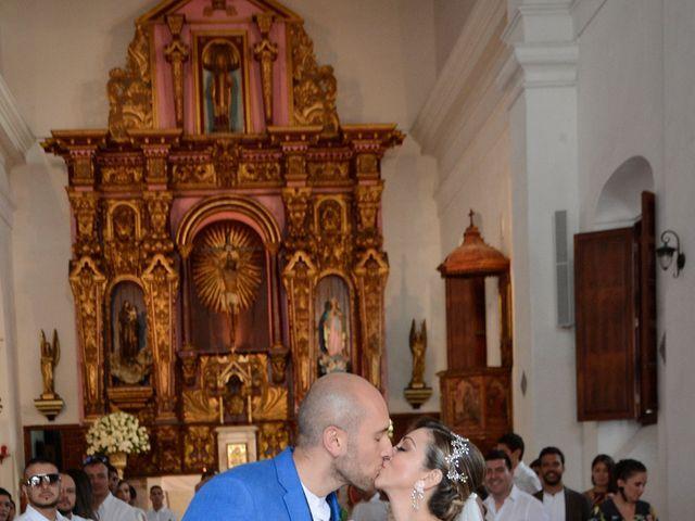 El matrimonio de Andrés y Verónica en Cartagena, Bolívar 16
