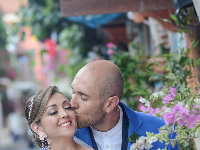 El matrimonio de Andrés y Verónica en Cartagena, Bolívar 19