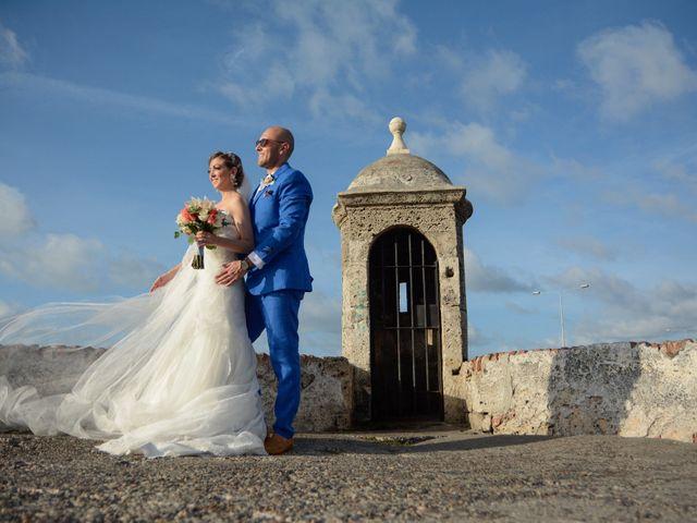 El matrimonio de Andrés y Verónica en Cartagena, Bolívar 22