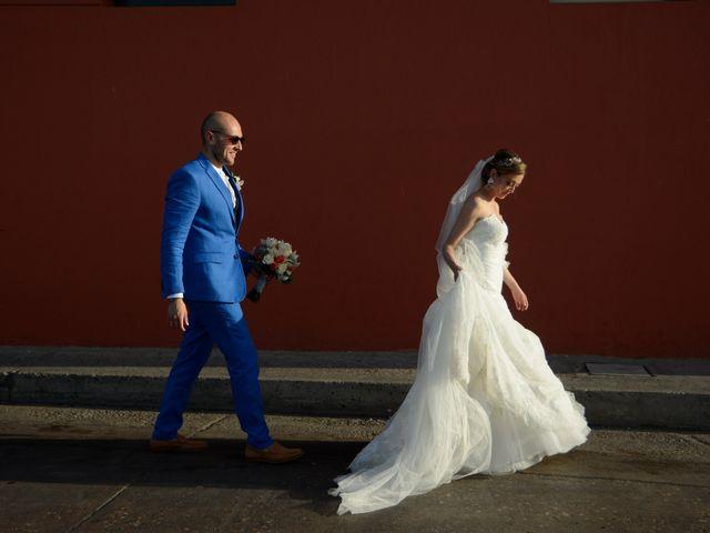 El matrimonio de Andrés y Verónica en Cartagena, Bolívar 24