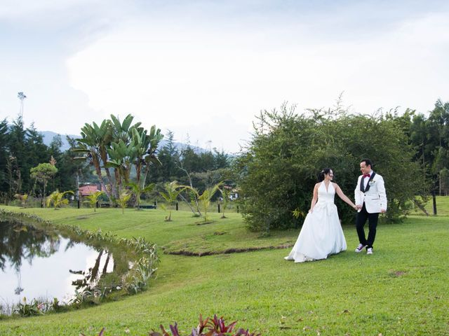 El matrimonio de Felipe y Francia en Medellín, Antioquia 13