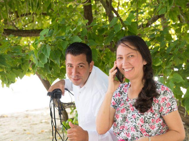 El matrimonio de Kelly y Dreiser en San Andrés, Archipiélago de San Andrés 9