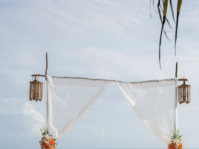El matrimonio de Kelly y Dreiser en San Andrés, Archipiélago de San Andrés 16
