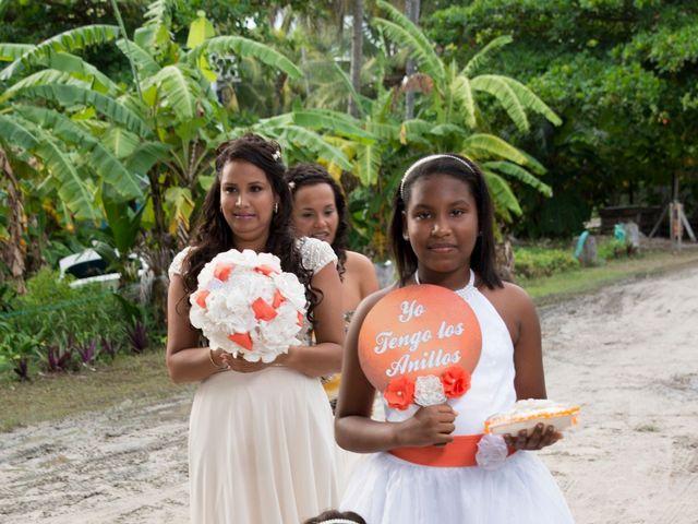 El matrimonio de Kelly y Dreiser en San Andrés, Archipiélago de San Andrés 25