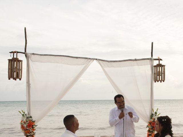 El matrimonio de Kelly y Dreiser en San Andrés, Archipiélago de San Andrés 43