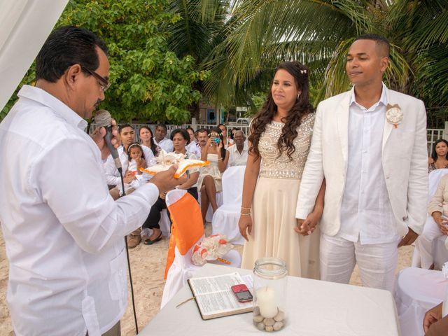 El matrimonio de Kelly y Dreiser en San Andrés, Archipiélago de San Andrés 45