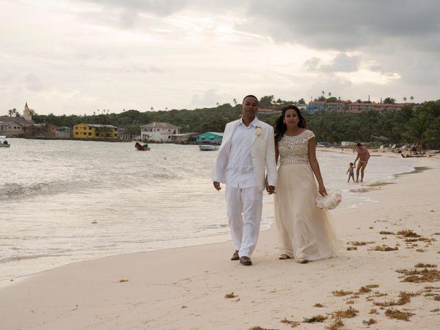 El matrimonio de Kelly y Dreiser en San Andrés, Archipiélago de San Andrés 71