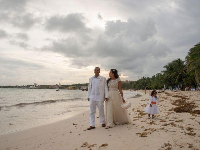 El matrimonio de Kelly y Dreiser en San Andrés, Archipiélago de San Andrés 73