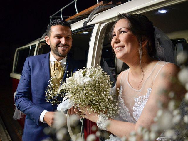 El matrimonio de Gloria y Leandro