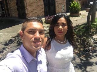 El matrimonio de Paola  y Faber