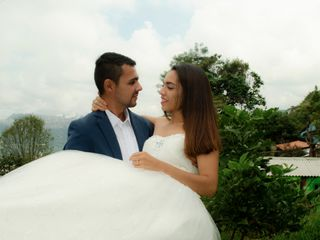 El matrimonio de Viviana Marcela y Andrés Felipe 1